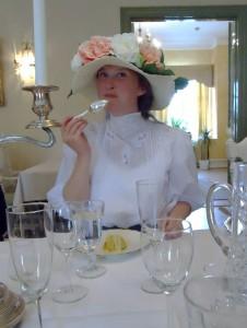 Hatten på middag